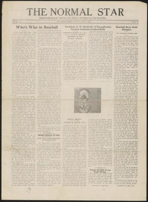 Primary view of object titled 'The Normal Star (San Marcos, Tex.), Vol. 9, No. 30, Ed. 1 Saturday, June 4, 1921'.