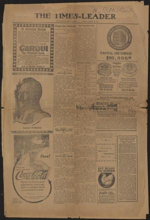 Primary view of object titled 'The Times-Leader (San Marcos, Tex.), Ed. 1 Friday, August 7, 1914'.