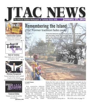 Primary view of object titled 'JTAC News (Stephenville, Tex.), Ed. 1 Monday, January 27, 2014'.