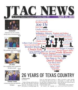 Primary view of JTAC News (Stephenville, Tex.), Ed. 1 Monday, April 21, 2014