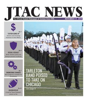 Primary view of JTAC News (Stephenville, Tex.), Ed. 1 Monday, November 17, 2014