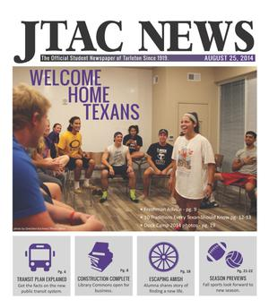 Primary view of JTAC News (Stephenville, Tex.), Ed. 1 Monday, August 25, 2014