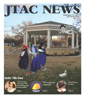 Primary view of object titled 'JTAC News (Stephenville, Tex.), Ed. 1 Monday, February 11, 2013'.