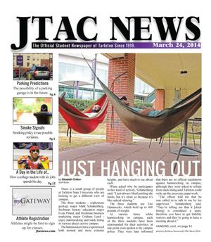 Primary view of JTAC News (Stephenville, Tex.), Ed. 1 Monday, March 24, 2014