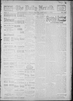 Primary view of object titled 'The Daily Herald (Brownsville, Tex.), Vol. 2, No. 169, Ed. 1, Friday, January 5, 1894'.