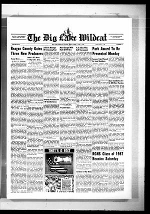Primary view of object titled 'The Big Lake Wildcat (Big Lake, Tex.), Vol. 42, No. 22, Ed. 1 Thursday, June 1, 1967'.