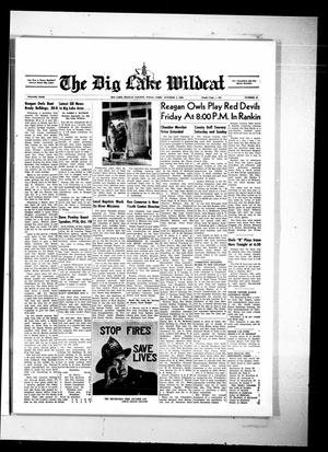 Primary view of object titled 'The Big Lake Wildcat (Big Lake, Tex.), Vol. 43, No. 40, Ed. 1 Thursday, October 3, 1968'.