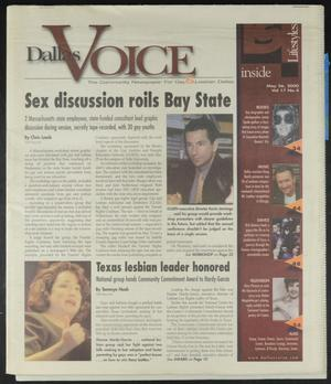 Primary view of object titled 'Dallas Voice (Dallas, Tex.), Vol. 17, No. 4, Ed. 1 Friday, May 26, 2000'.