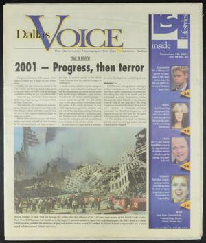 Primary view of object titled 'Dallas Voice (Dallas, Tex.), Vol. 18, No. 36, Ed. 1 Friday, December 28, 2001'.