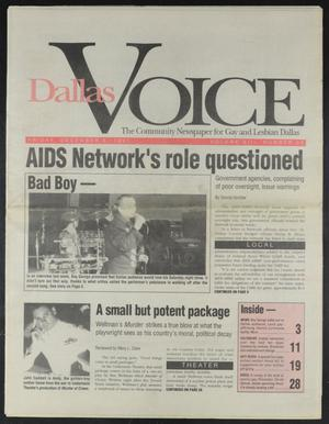 Primary view of object titled 'Dallas Voice (Dallas, Tex.), Vol. 8, No. 33, Ed. 1 Friday, December 6, 1991'.