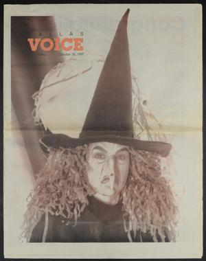 Primary view of object titled 'Dallas Voice (Dallas, Tex.), Vol. 4, No. 26, Ed. 1 Friday, October 30, 1987'.