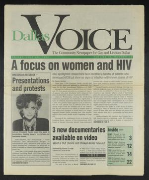 Primary view of object titled 'Dallas Voice (Dallas, Tex.), Vol. 9, No. 13, Ed. 1 Friday, July 24, 1992'.