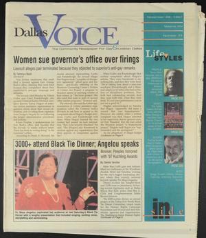 Primary view of Dallas Voice (Dallas, Tex.), Vol. 14, No. 31, Ed. 1 Friday, November 28, 1997