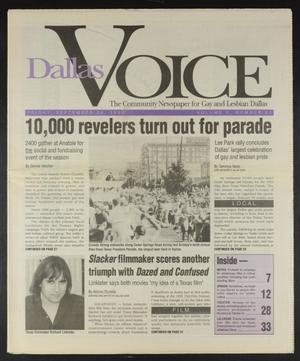 Primary view of Dallas Voice (Dallas, Tex.), Vol. 10, No. 20, Ed. 1 Friday, September 24, 1993