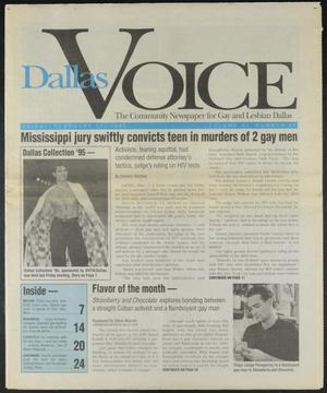 Primary view of object titled 'Dallas Voice (Dallas, Tex.), Vol. 11, No. 41, Ed. 1 Friday, February 17, 1995'.