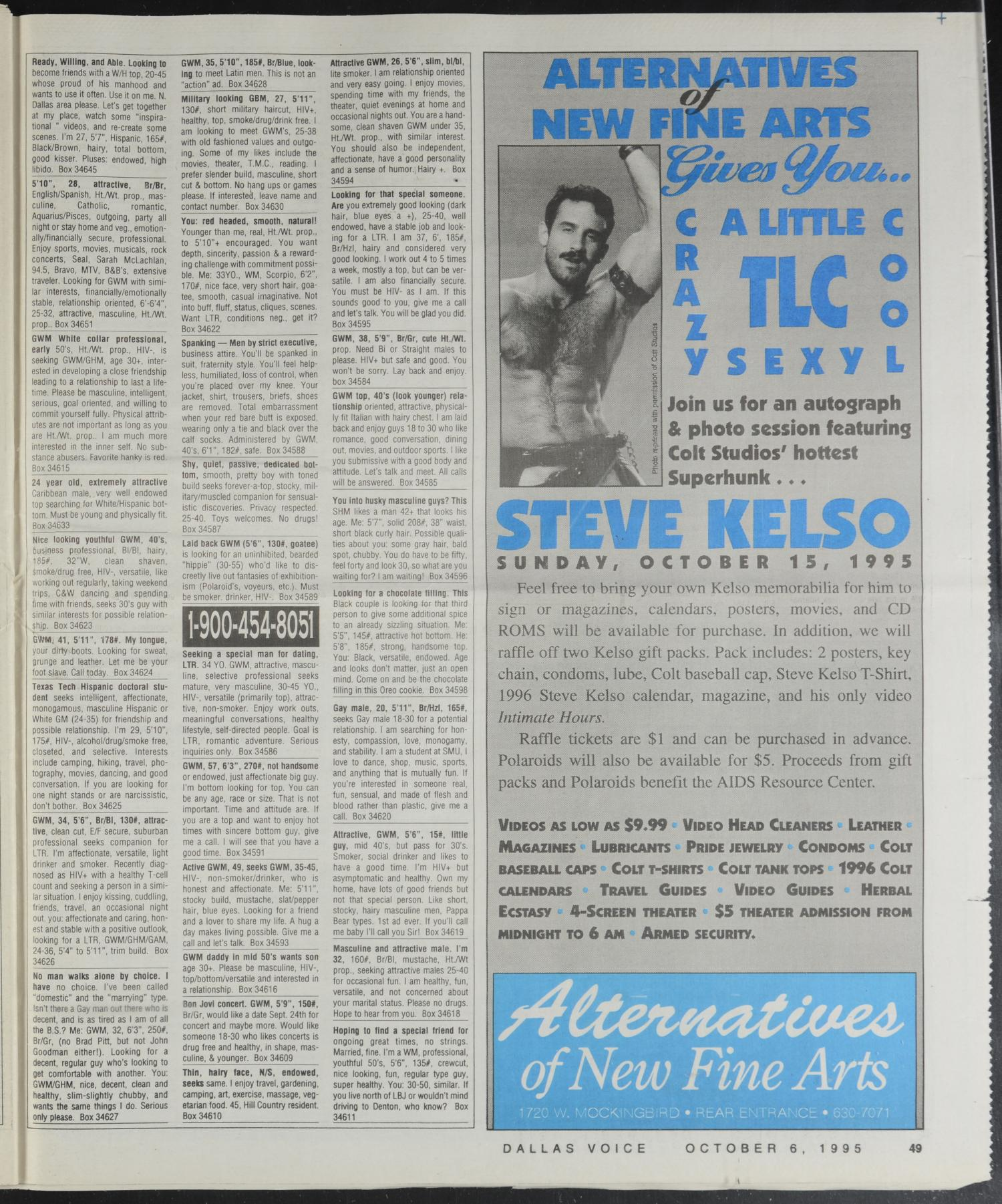 Dallas Voice (Dallas, Tex ), Vol  12, No  23, Ed  1 Friday