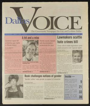 Primary view of object titled 'Dallas Voice (Dallas, Tex.), Vol. 12, No. 4, Ed. 1 Friday, May 26, 1995'.