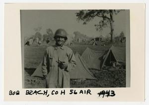 Primary view of object titled '[Photograph of Bob Beach in Tennessee]'.