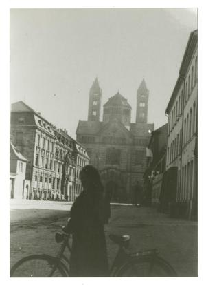 Primary view of object titled '[Photograph of European City Street]'.