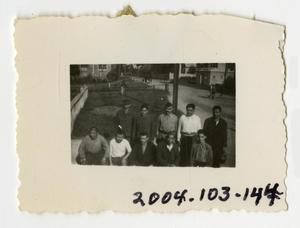 Primary view of object titled '[Photograph of Civilian Men]'.