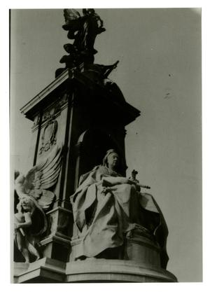 Primary view of object titled '[Photograph of Victoria Memorial]'.