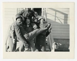 Primary view of object titled '[Photograph of Group of Soldiers]'.