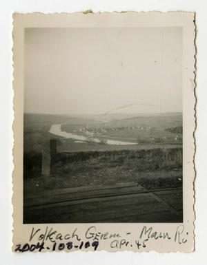 Primary view of object titled '[Photograph of Main River in Germany]'.
