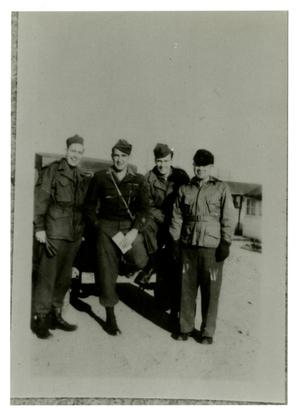 Primary view of object titled '[Photograph of Soldiers]'.