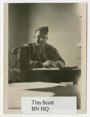 Primary view of object titled '[Photograph of Tim Scott]'.