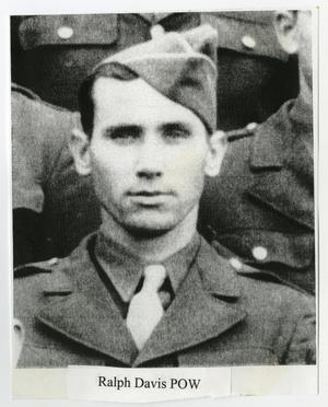 Primary view of object titled '[Photograph of Ralph Davis, POW]'.