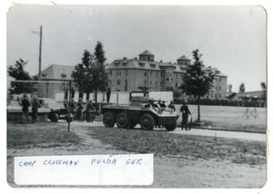 Primary view of object titled '[Camp Crossman in Fulda, Germany]'.