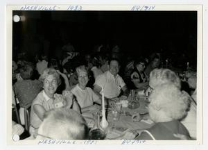 Primary view of object titled '[Photograph of 714th Tank Battalion Headquarters Reunion]'.