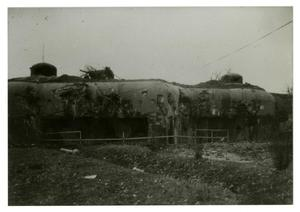 Primary view of object titled '[Photograph of Bunker]'.