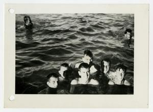 Primary view of object titled '[Photograph of Soldiers in Swimming Pool]'.