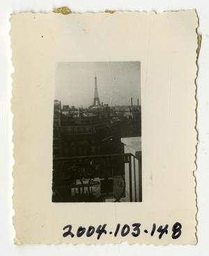 Primary view of object titled '[Photograph of Paris, France]'.