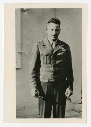 Primary view of object titled '[Photograph of Major Bob Beach]'.