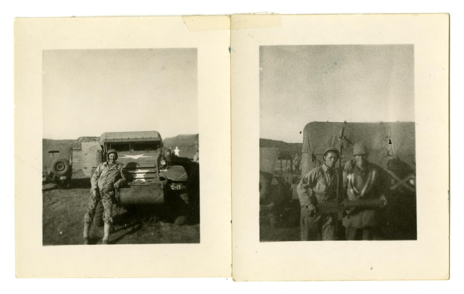 [Photographs of Soldiers]                                                                                                      [Sequence #]: 1 of 2