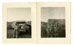 Primary view of object titled '[Photographs of Soldiers]'.