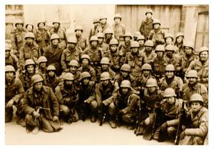Primary view of object titled '[Photograph of 56th Armored Infantry Battalion, 2nd Platoon, C Company]'.