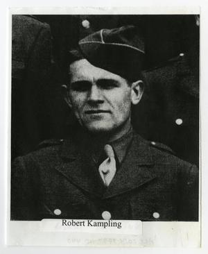 Primary view of object titled '[Photograph of Robert Kampling]'.