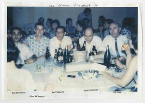 Primary view of object titled '[Group of Men at  The 1962 12th Armored Division Association Reunion]'.