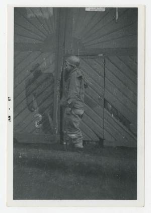 Primary view of object titled '[Photograph of German Werewolf Signs]'.