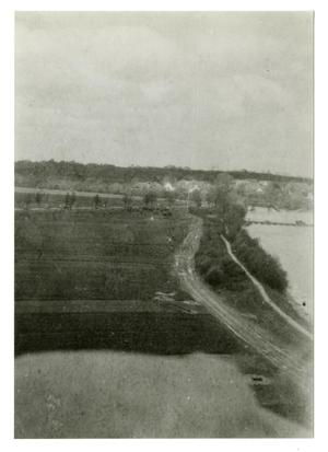 Primary view of object titled '[Photograph of River and Road]'.
