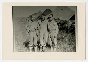 Primary view of object titled '[Photograph of Soldiers at Hellcat Combat Camp]'.