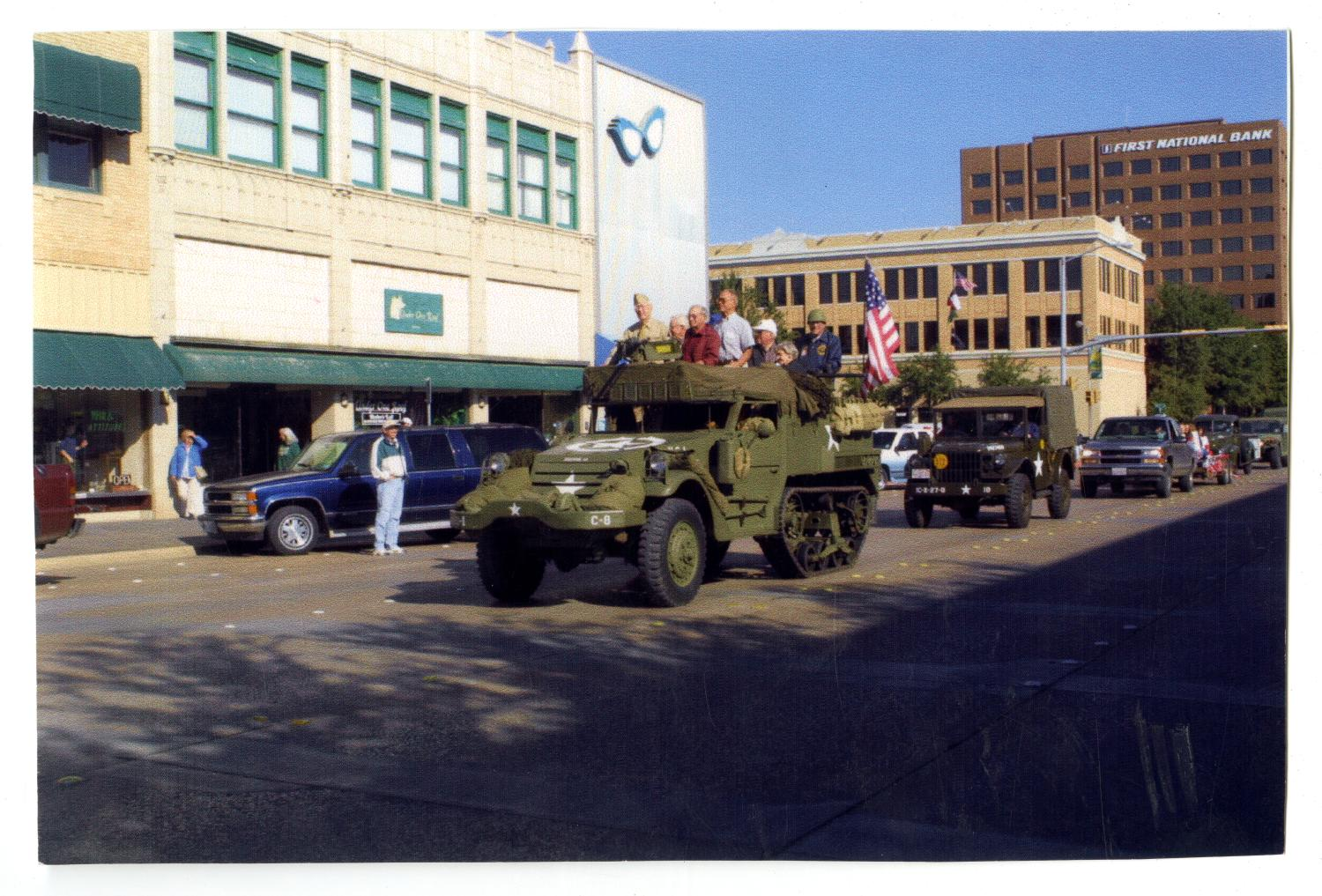 [Veterans in Halftrack]                                                                                                      [Sequence #]: 1 of 2
