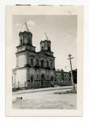 Primary view of object titled '[Photograph of Gothic Building]'.