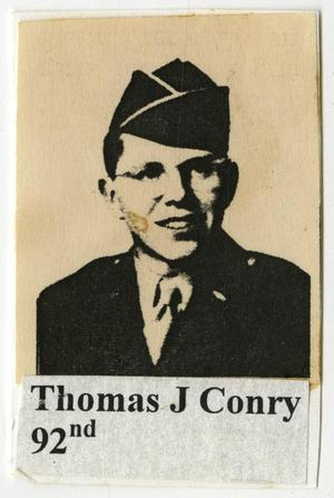 Primary view of object titled '[Photograph of Thomas J. Conry]'.