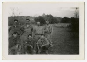 Primary view of object titled '[Photograph of Soldiers in Field]'.