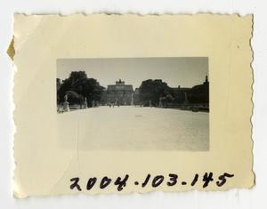 Primary view of object titled '[Photograph of Arc de Triomphe du Carrousel]'.