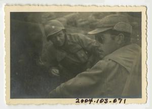 Primary view of object titled '[Photograph of Officers]'.